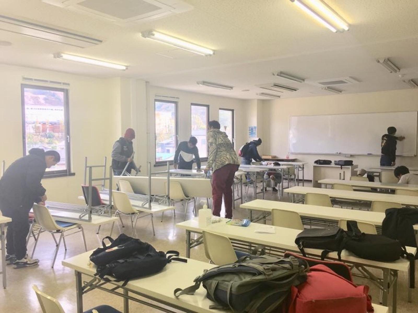 校内清掃ボランティア